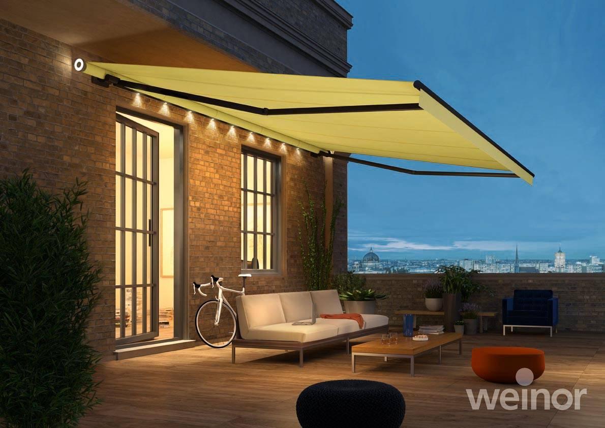 weinor markisen plissee markise elektrisch k ln. Black Bedroom Furniture Sets. Home Design Ideas